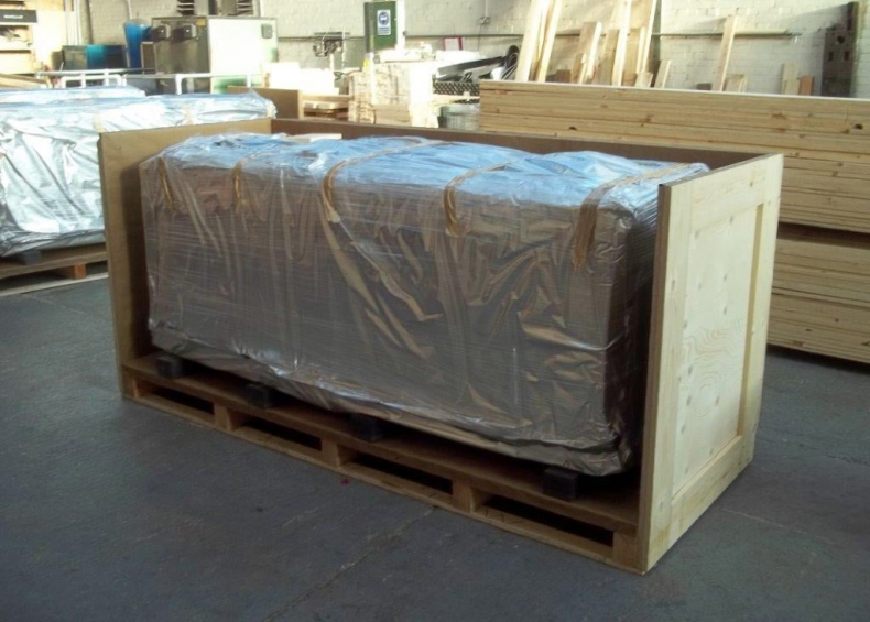 ABB rack component packing case construction