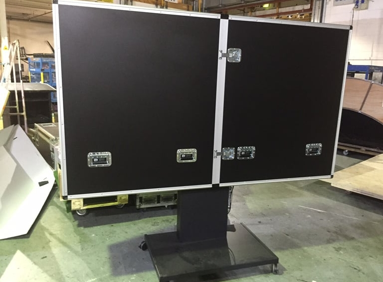 ITV Surface Hub Flight Case complete