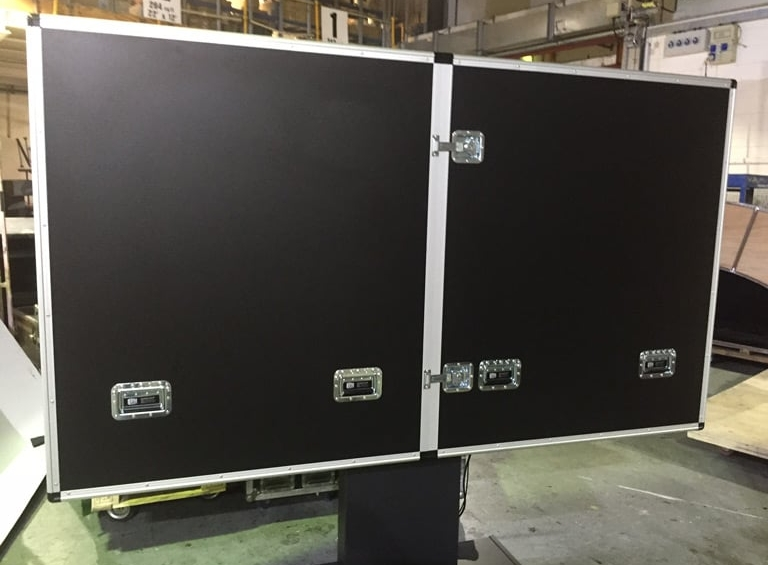 ITV Surface Hub Flight Case close up