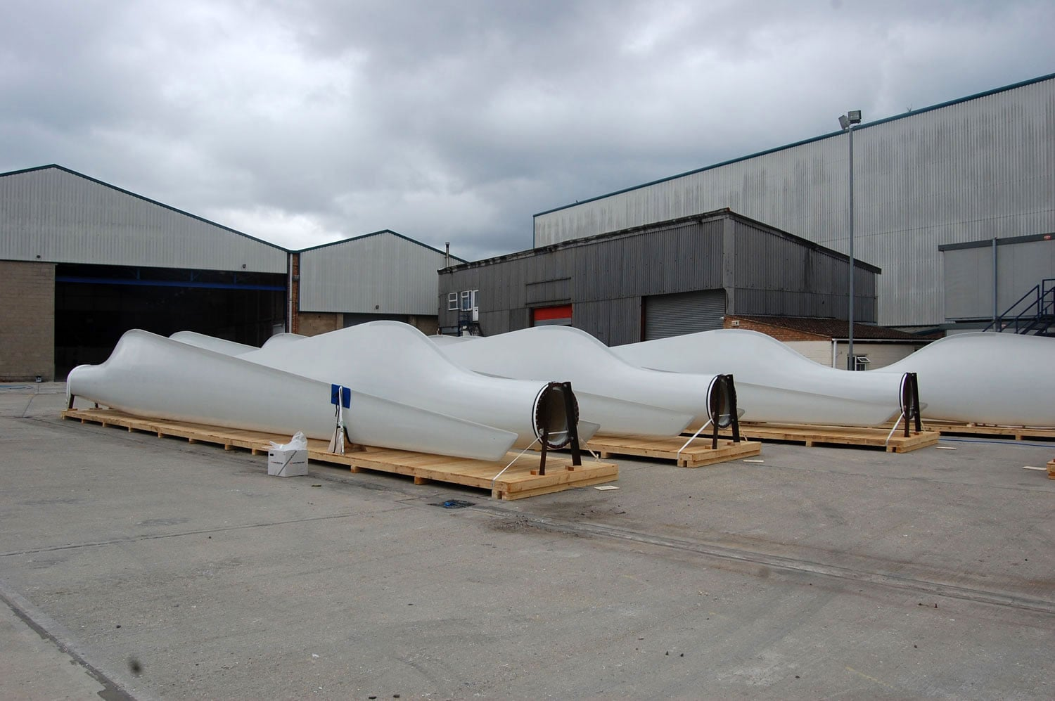 Wind Turbine Blade Packing Project | P&M Packing