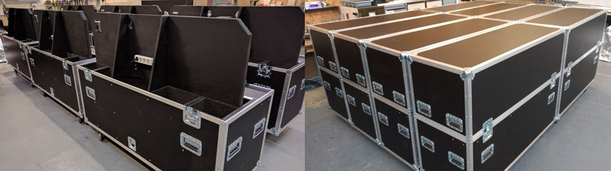Flight Cases for Demo Hubs