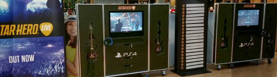 Guitar Hero Tour Flight Cases