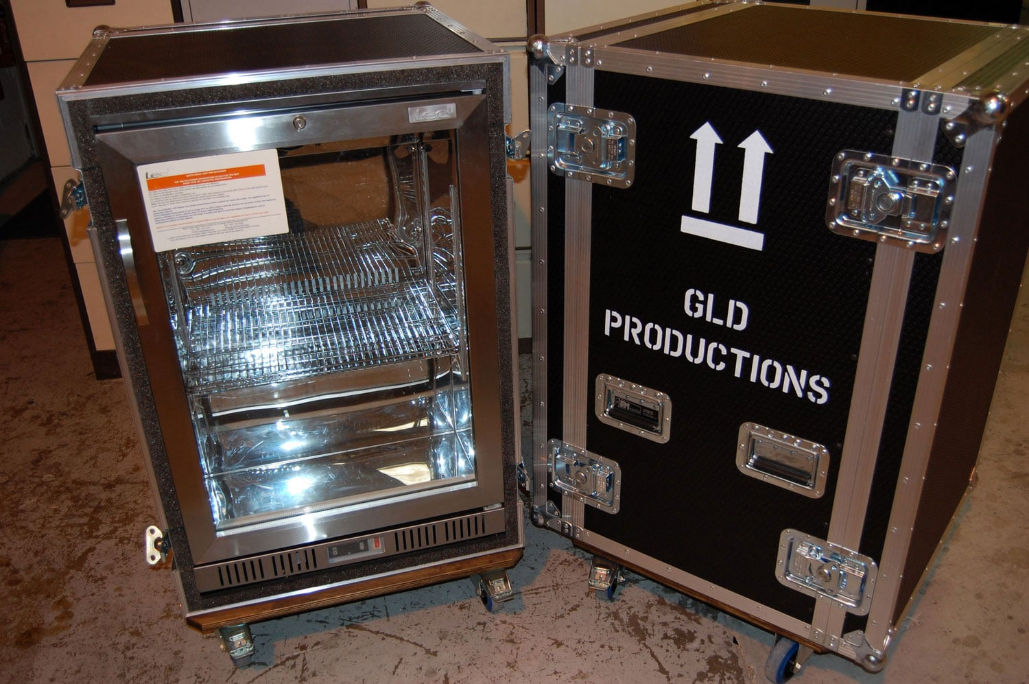U2 World Tour – Specialist Flight Cases | P&M Packing