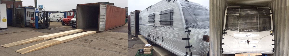 Caravan Export Packing