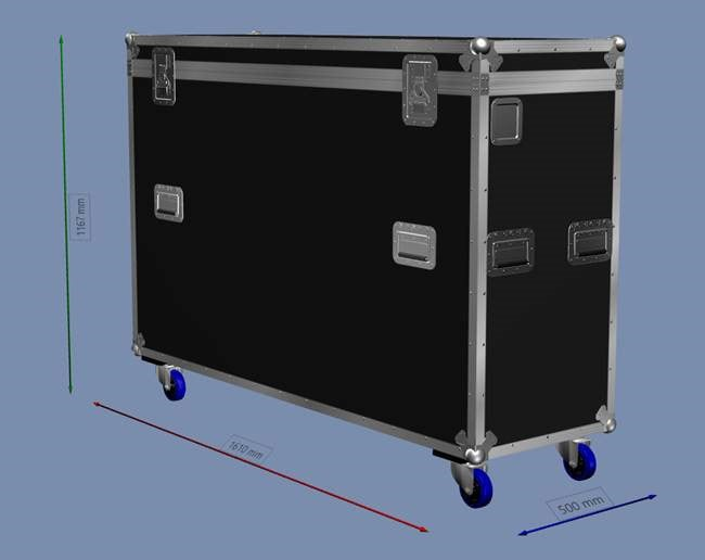 Microsoft Surface Hub Flight Case (Dimensions)
